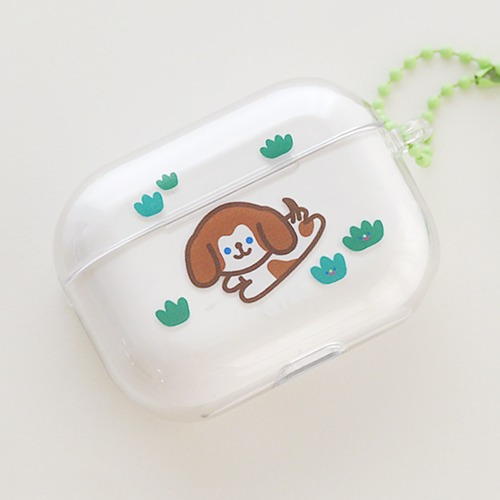 [리코더팩토리] AIRPODS PRO CLEAR CASE - BEAGLE BEAGLE