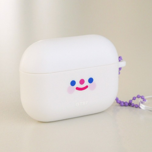 [리코더팩토리] AIRPODS PRO CASE - RiCO SMILE WHITE