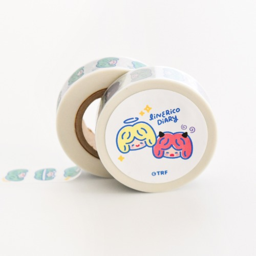 [리코더팩토리] LINE RiCO DIARY MASKING TAPE - COLOR