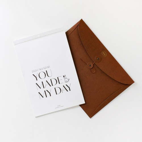 [보키] 2021 Calendar - You Made My Day